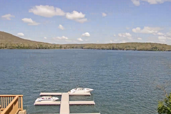 Webcam overlooking Deep Creek Lake