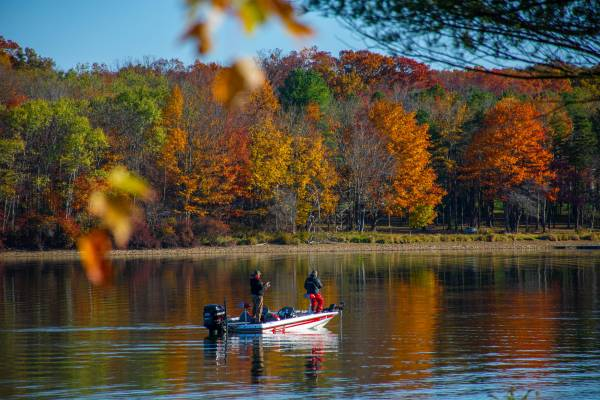 Fall Fishing at Deep Creek Lake