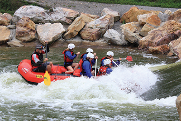 Whitewater Rafting at Wisp Resort
