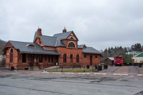Railroad Museum in Oakland, MD