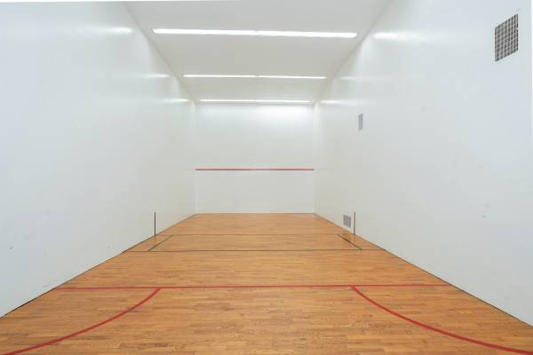 Hotel Amenity - Racquetball and Hand Racket Court