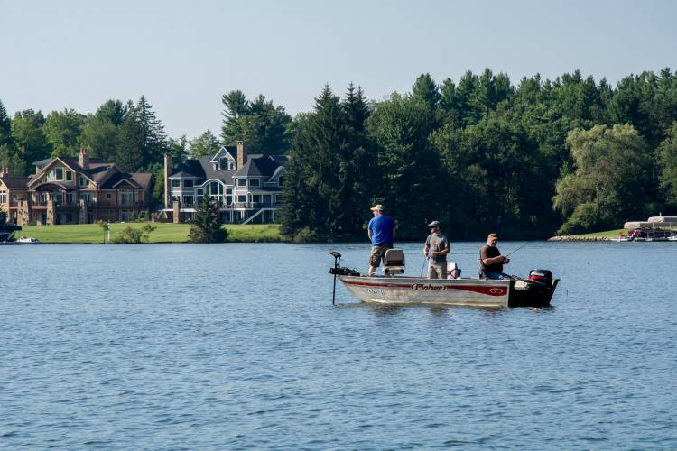 Fishing on Deep Creek Lake