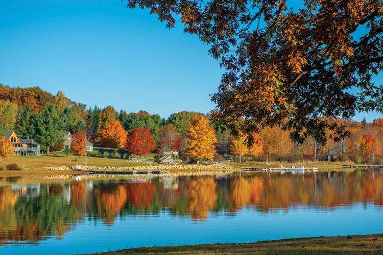 Fall at Deep Creek Lake