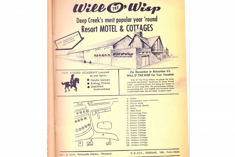 Old Ad for Will O' The Wisp