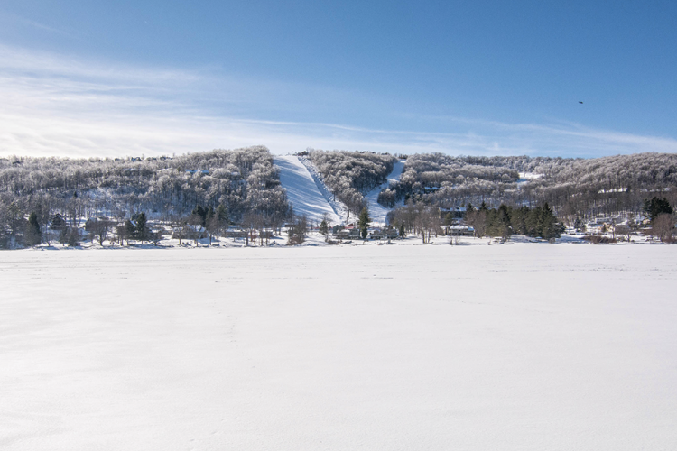 Winter at Deep Creek Lake