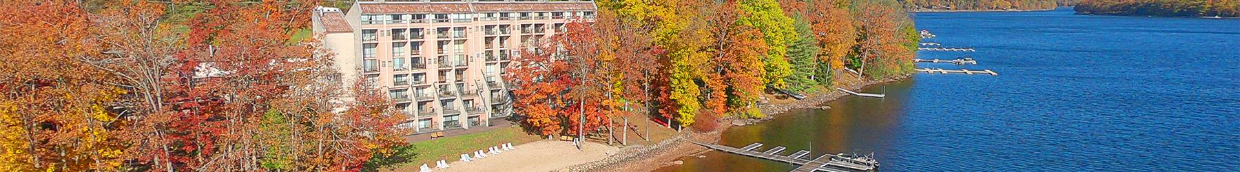 Fall Drone Shot of Will O' The Wisp