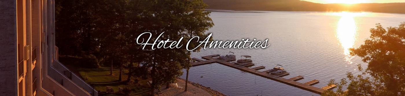 Hotel Amenities | Will O' the Wisp | Deep Creek Lake