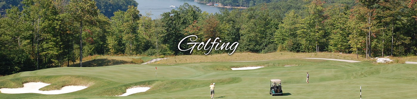 Golf Course Overlooking Deep Creek Lake